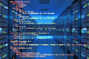 Bild mit Software